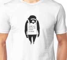 Laugh Now Chimp Unisex T-Shirt