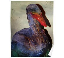 Housebreaking Heron Poster