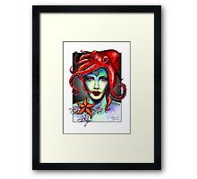 Sexy Mermaid Framed Print