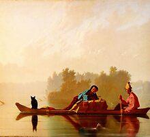 George Caleb Bingham Fur Traders Descending the Missouri WGA2205 by Adam Asar