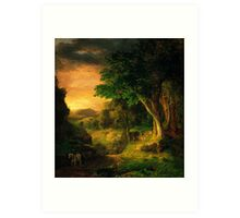 George Inness In the Berkshires Art Print