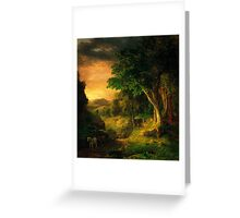 George Inness In the Berkshires Greeting Card