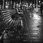 Lonely under the rain by Unai Ileaña
