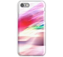 Flashes of light abstract iPhone Case/Skin