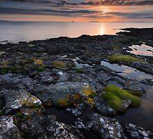 Scottish Sunset  by Dominique Dubied
