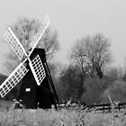 Wicken Windmill by lisa1970