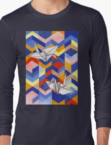 Origami Long Sleeve T-Shirt