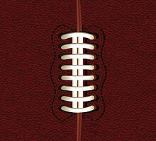 American Football Ball iPad Case /iPhone 5 Case / iPhone 4 Case / Samsung Galaxy Cases  by CroDesign