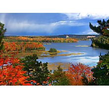 Fall Colors, Au Sable National Scenic River Photographic Print