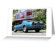 1967 Chevrolet Camaro SS Greeting Card