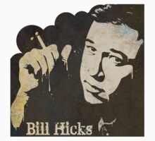 Bill Hicks Sticker by stella4star