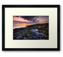 The Grand Sunset Framed Print