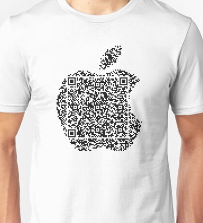 QR Apple Unisex T-Shirt