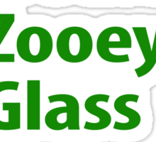 what would Zooey Glass do? Sticker
