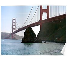 The Golden Gate Bridge, San Francisco Poster