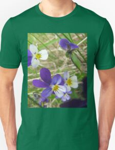 Wild pansy Unisex T-Shirt
