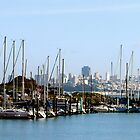 The distant view of San Francisco by ADayToRemember