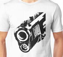 gun barrel Unisex T-Shirt
