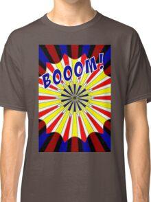 Pop art meets Mondrian explosion Classic T-Shirt
