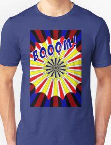 Pop art meets Mondrian explosion Unisex T-Shirt
