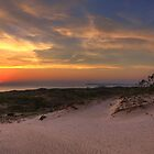 Sunset on Sleeping Bear Dunes by DArthurBrown