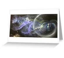 The universe in your DNA Greeting Card