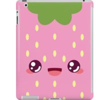Pink Strawberry iPad Case/Skin