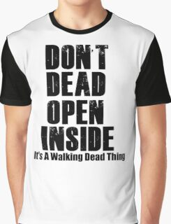 TWD thing  Graphic T-Shirt