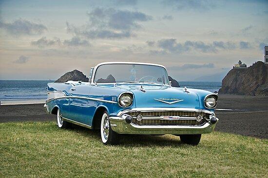 1957 Chevrolet Bel Air Convertible by DaveKoontz