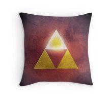 Triforce of Power Throw Pillow