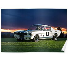 1965 Shelby Mustang GT350R Poster