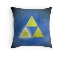 Triforce of Wisdom Throw Pillow