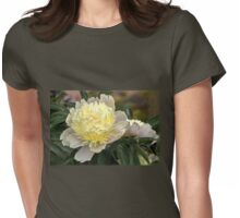 Two Tone Peony - remembering summer!!!! Womens Fitted T-Shirt