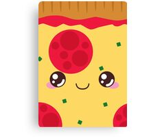Pepperoni Pizza Canvas Print
