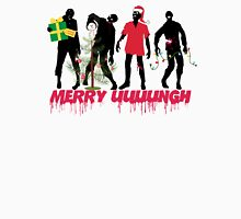 Funny Zombies decorating Christmas tree T-Shirt