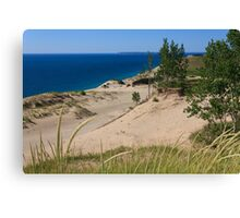 Sleeping Bear Dunes and South Manitou Island Canvas Print