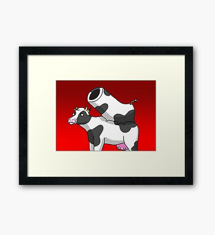 CANNONCOW Framed Print