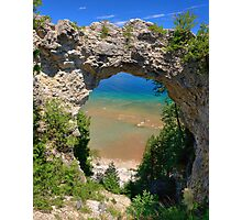Arch Rock, Mackinac Island Photographic Print