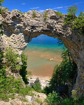 Arch Rock, Mackinac Island by DArthurBrown