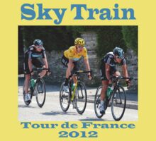 Wiggins Sky Train - Tour de France 2012 One Piece - Short Sleeve