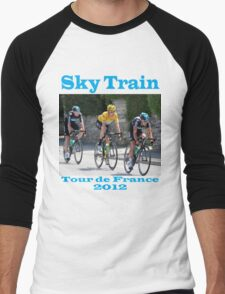 Wiggins Sky Train - Tour de France 2012 Men's Baseball ¾ T-Shirt