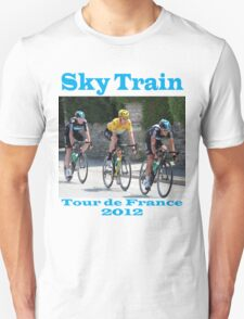 Wiggins Sky Train - Tour de France 2012 T-Shirt