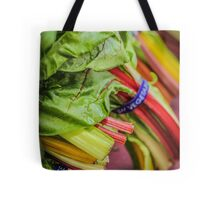 Farmers Market Rainbow Chard Tote Bag