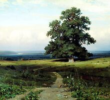 Ivan Shishkin  In the Open Valley (1883) by Adam Asar
