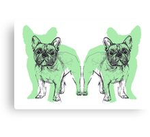 Theo the Frenchie Canvas Print