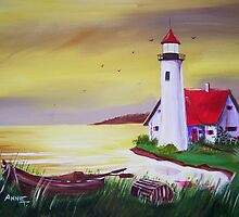 The Light House  by Anne Guimond