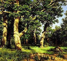 Ivan Shishkin  Russian Art by Adam Asar