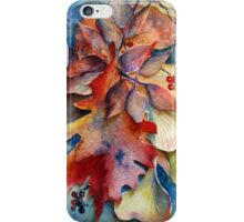 Autumn Leaf Collage iPhone Case/Skin
