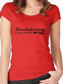 Revolutionary - Black Women's Fitted Scoop T-Shirt