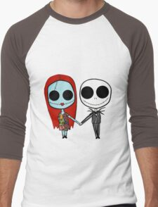 Jack and Sandy - The Nightmare Before Christmas Men's Baseball ¾ T-Shirt